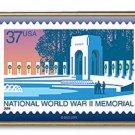 World War II Veterans Memorial stamp pin lapel hat 3862 s