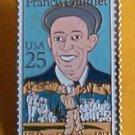 Francis Ouimet Golf stamp Pins tie tac hat lapel pin 2377