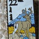 Mule Deer Wildlife stamp pin lapel pins tie tac 2294
