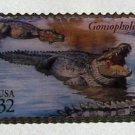 Goniopholis Dinosaur stamp pin lapel pins hat new 3136e s