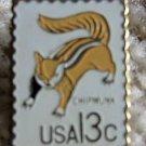 Chipmunk CAPEX 1978 stamp pin lapel pins hat 1757f