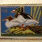 Red-breasted Merganser duck stamp pins lapel pin RW61