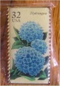 Hydrangea Garden Flower stamp pin lapel pins hat 2996 s