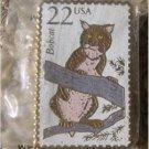 Bobcat Wildlife stamp pin lapel pins hat tie tac 2332