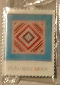 Amish Quilt Sunshine Shadow Stamp pins lapel pin  3526 S