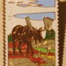 Moose Wildlife Stamp magnet cloisonne new 2298mg