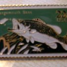 Largemouth Bass Stamp pins lapel pin hat cloisonne 2207