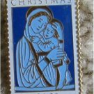 Mary Child Madonna Luoa della Robbia Stamp pin 2165