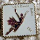 Ballet Dance stamp pins lapel pin hat tie tac 1749