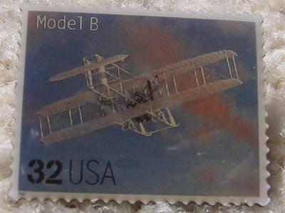 Model B Classic Aircraft stamp pins lapel pin hat 3142b s