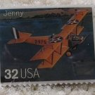 Jenny Classic Aircraft Plane stamp pins lapel pin 3142s s