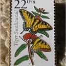 Tiger Swallowtail Butterfly stamp pins lapel pin 2300 S