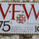 Veterans Foreign Wars VFW stamp pin lapel pins hat 1525 S