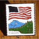 American Flag Yosemite stamp pins lapel pin hat 2280