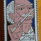 Arturo Toscanni Stamp pin lapel pins hat tie tac 2411 S