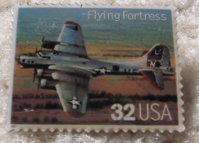 B-17 Flying Fortress  Classic Aircraft stamp pins lapel pin 3142k S