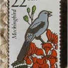 Mockingbird Wildlife stamp pin lapel pins tie tac 2330