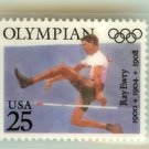 Ray Ewry Olympics laminate Stamp Pins tie tac lapel pin 2497 exc