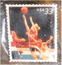 Basketball Youth Sports stamp pin lapel pins hat 3399 s
