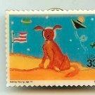 Spacedog Dog Stamp Pin lapel pins hat tie tac 3417 S