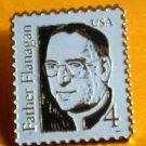 Father Flanigan Stamp Pin lapel pins collectible 2171