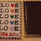 Love 1984 Stamp refrigerator magnet white 2072mgw