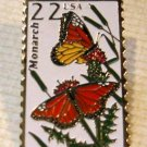 Monarch Butterfly Wildlife stamp pin lapel pins 2287