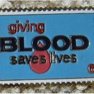Blood Donor Medical stamp pin lapel pins tie tac 1425