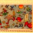 Astronaut Stamping lapel pins metal Stamp Pin hat 3414 s