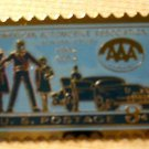 American Automobile Association lapel stamp pin 1007