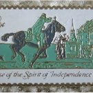 Postrider stamp pin lapel pins hat tie tac 1478