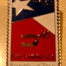 Texas Republic stamp pin lapel pins hat tie tac 2204