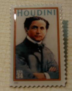 Harry Houdini Stamp pin lapel pins hat tie tac 3651 S