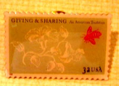 Philanthropy Stamp Pin collectible hat lapel pins 3243 S