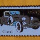 Cord 1931 Car Stamp Pin lapel pins hat tie tac 2383