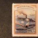 Monitor Virginia (Civil War) stamp pin lapel pins 2975a S