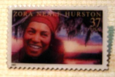 Zora Neale Hurston Black Heritage stamp pin lapel 3748 S
