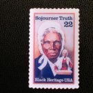 Sojourner Truth stamp pin lapel Black History 2203 S