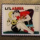 Li'L Abner Comics stamp pin lapel pins hat 3000q