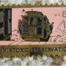 San Francisco Cable Car stamp pin lapel pins hat 1442