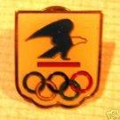 USPS Olympic Rings Sponsor pin lapel hat tie tac m10