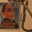 Lon Chaney Phantom Opera stamp keychain 3168kc