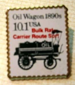 Oil Wagon Transportation stamp pin lapel pins hat 2130 s