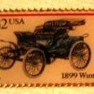 Winton Antique Auto Stamp Pin lapel pins hat 3022 s