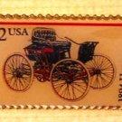 Haynes 1894 Antique Automobile stamp pin lapel 3020 s