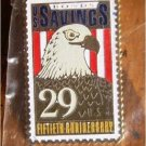 Savings Bonds Eagle stamp pin lapel pins 2534 S