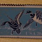 Mallards Ding Darling Wetlands Duck stamp pin hat 2092 s