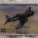 Corsair Classic Aircraft stamp pin lapel pins hat 3142g s