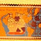 New Sweden stamp pin hat lapel pins tie tac c117 S
