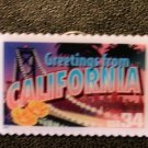 California CA Greetings Stamp Pin lapel pins hat 3700 S
